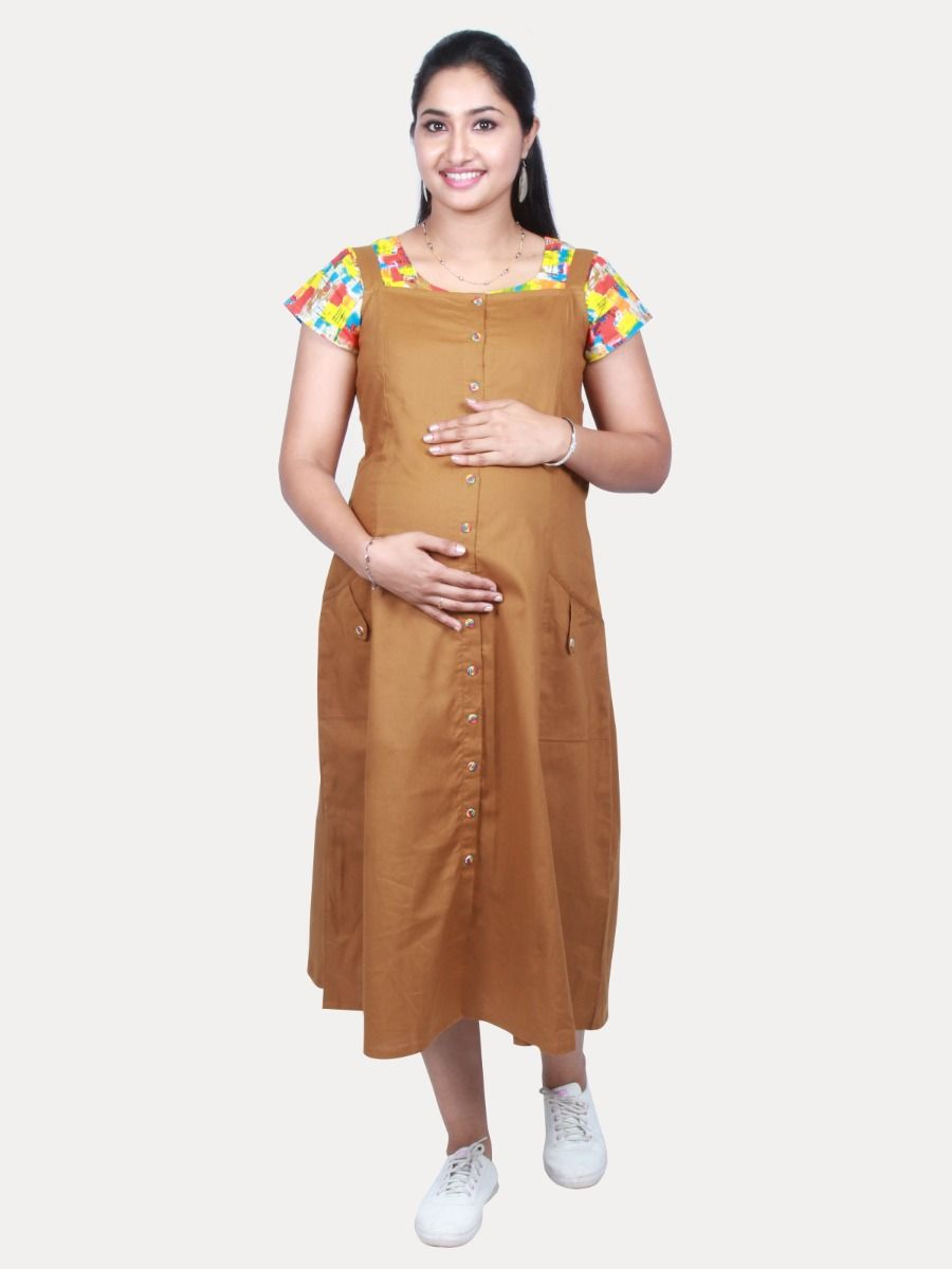 Maternity short top with Free mask (SHALAN)